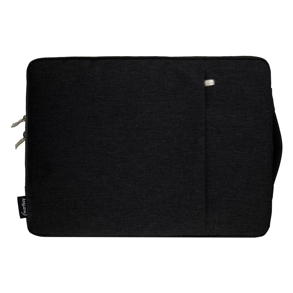 Black Fabric Zipper Sleeve