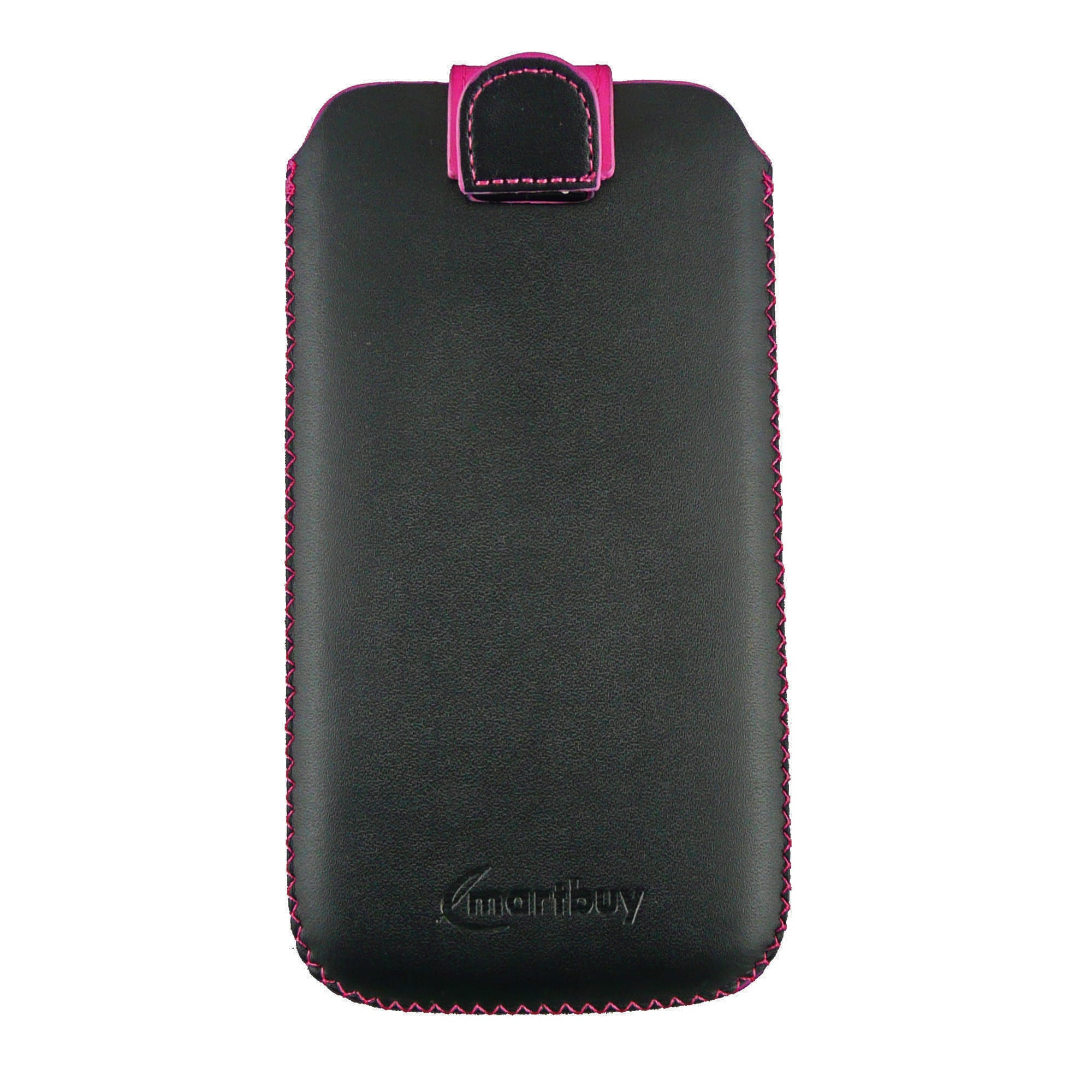 Universal Phone Pouch - Hot Pink Gem Studded Plain