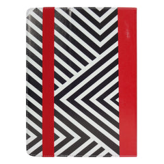 Universal Tablet Case - Black/Red Stripes