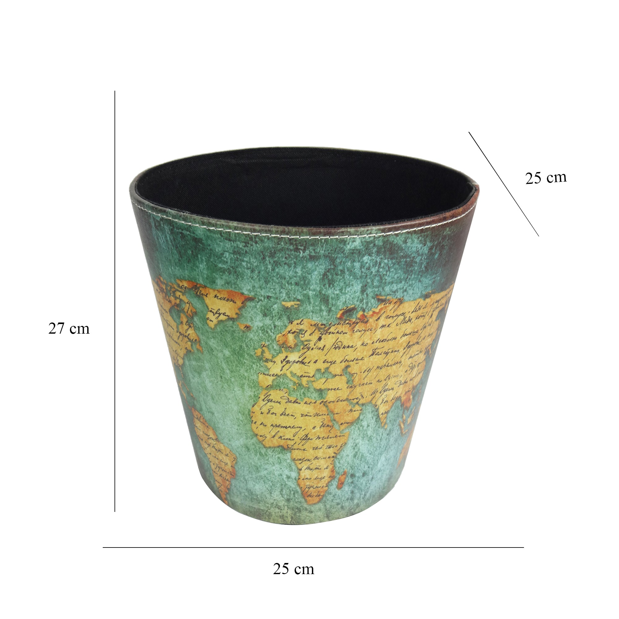 Dust Bin - World Map