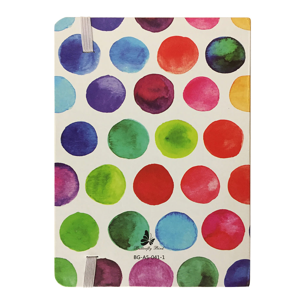 A6 Abstract Diary - Polka Dot