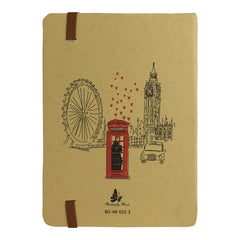 A5 Cities Diary - Brown London