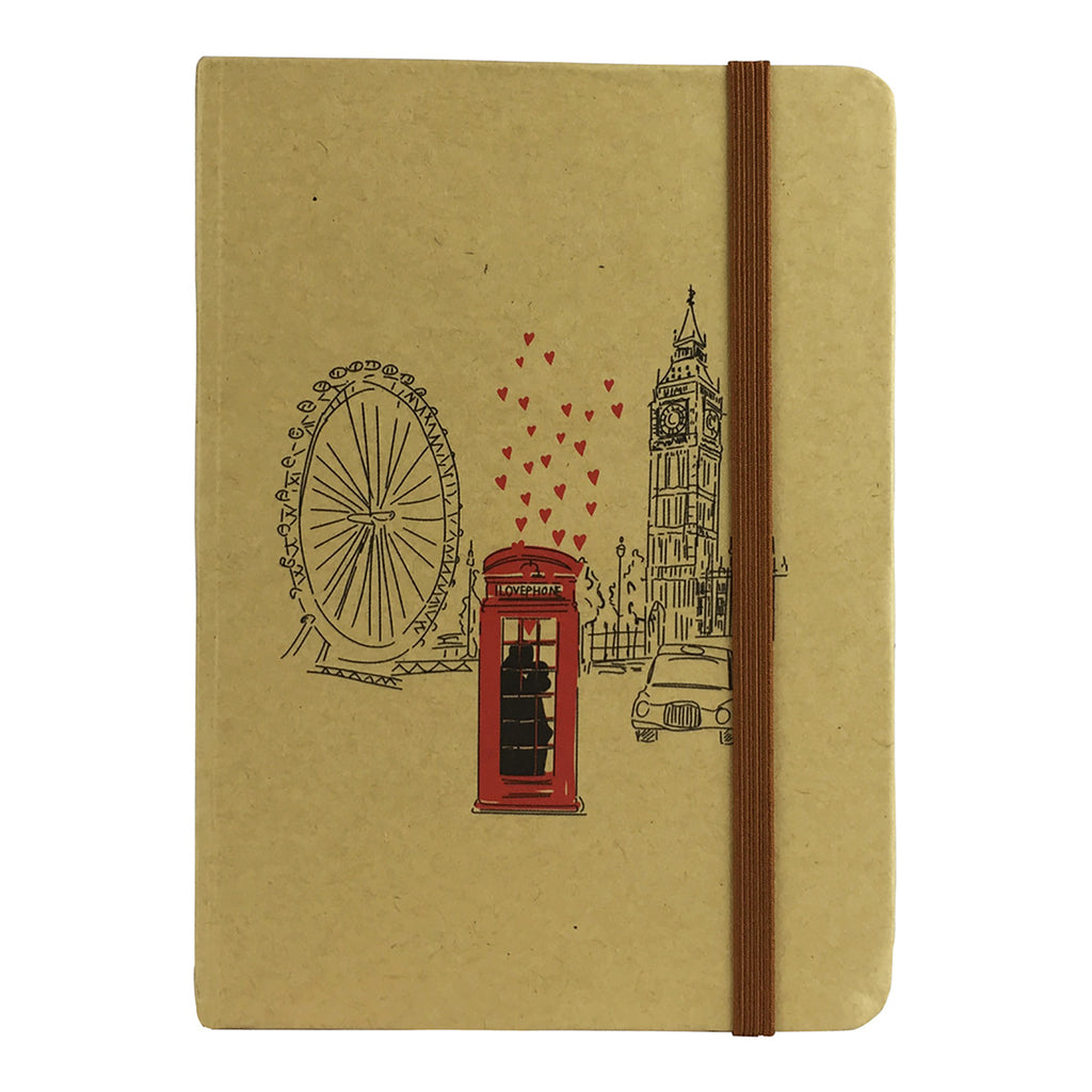 A6 Cities Diary - Brown London