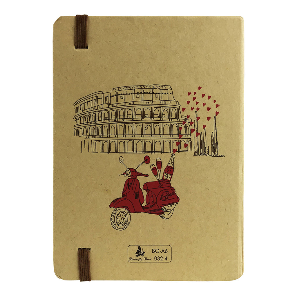 A5 Cities Diary - Brown Rome