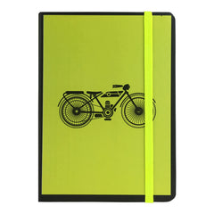A5 Vintage Diary - Yellow Bike