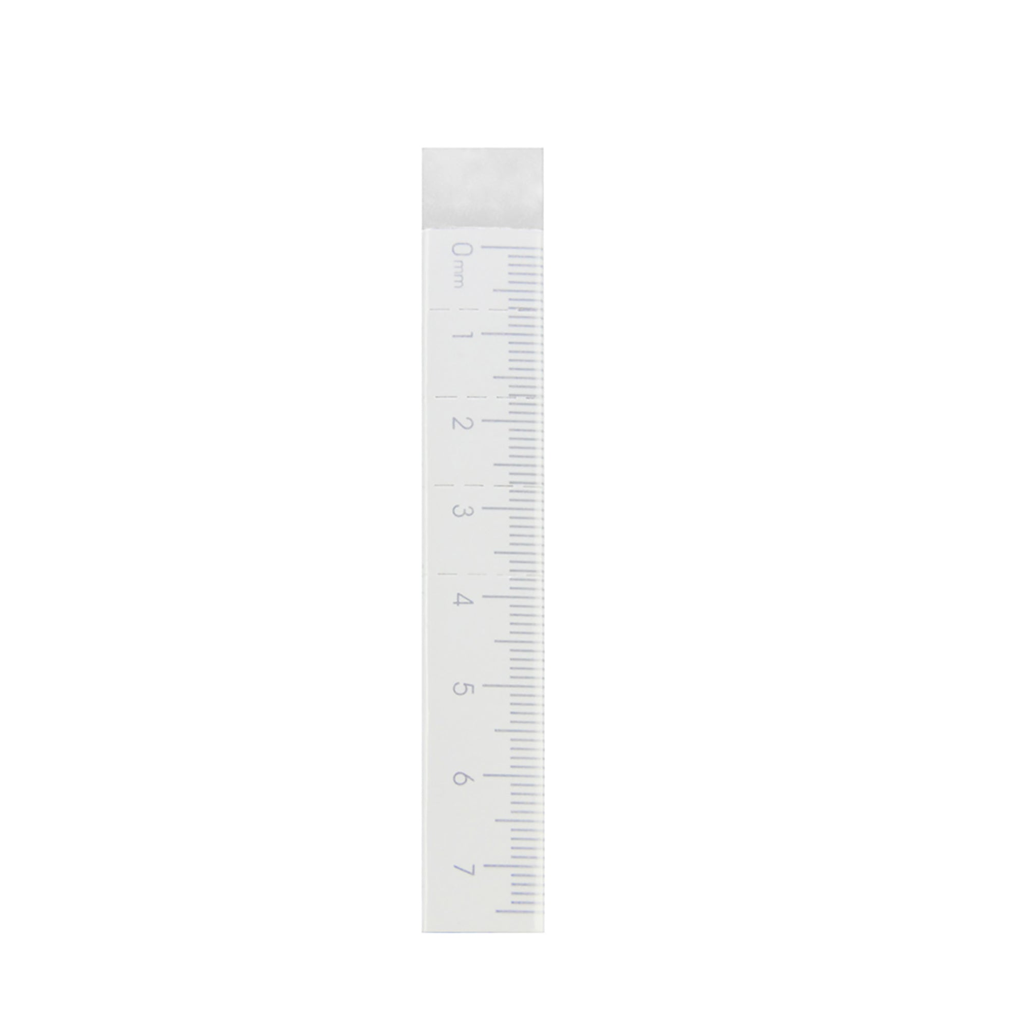 Long Ruler Eraser - White