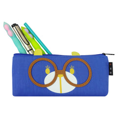 Fabric Pencil Case - Specs Brown