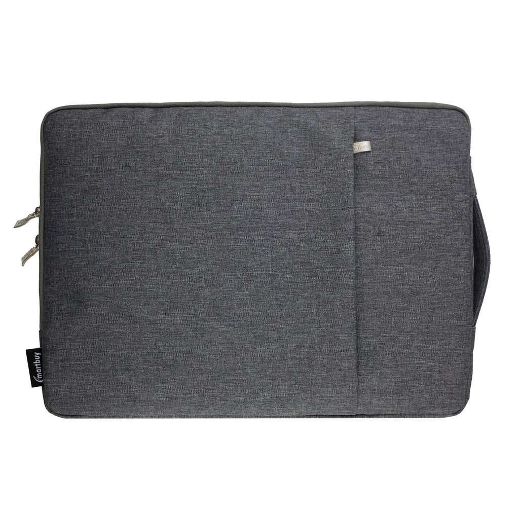 Grey Fabric Zipper Sleeve