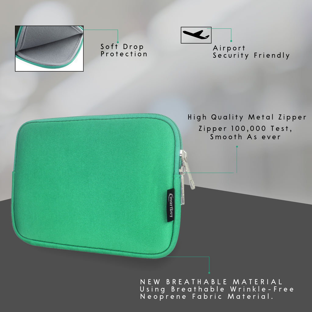 Universal Neoprene Zip Case - Green