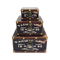 Pacific Soul Jewelry Box - Set of 3