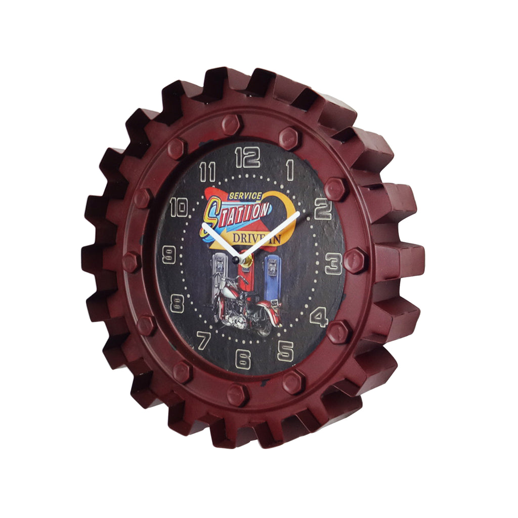 Bearing Clock - Red