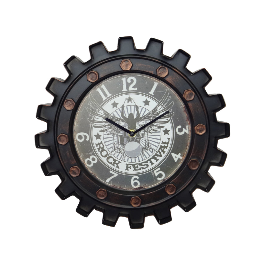 Bearing Clock - Black