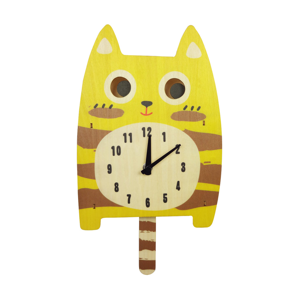 Animal Clock - Cat