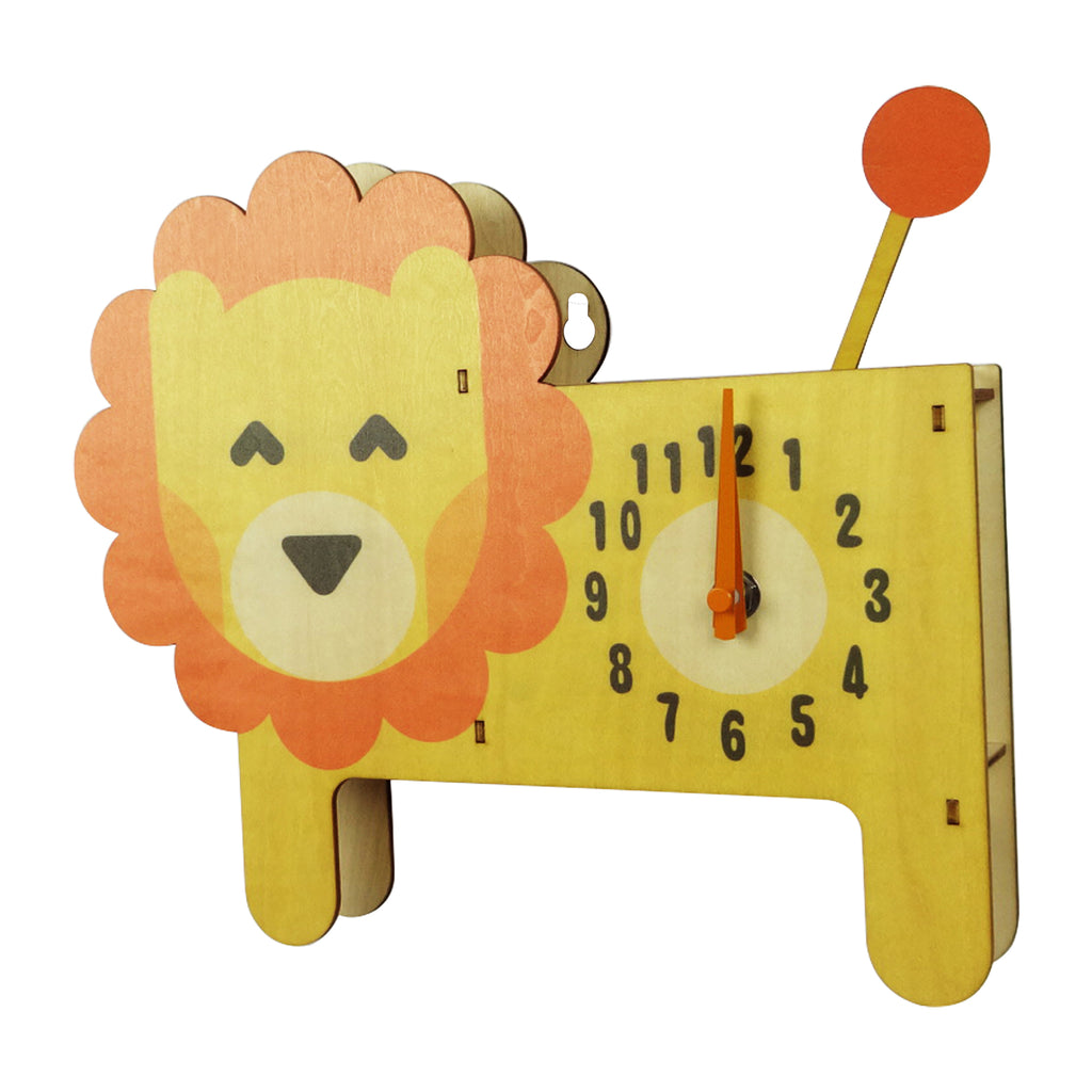 Animal Clock - Lion