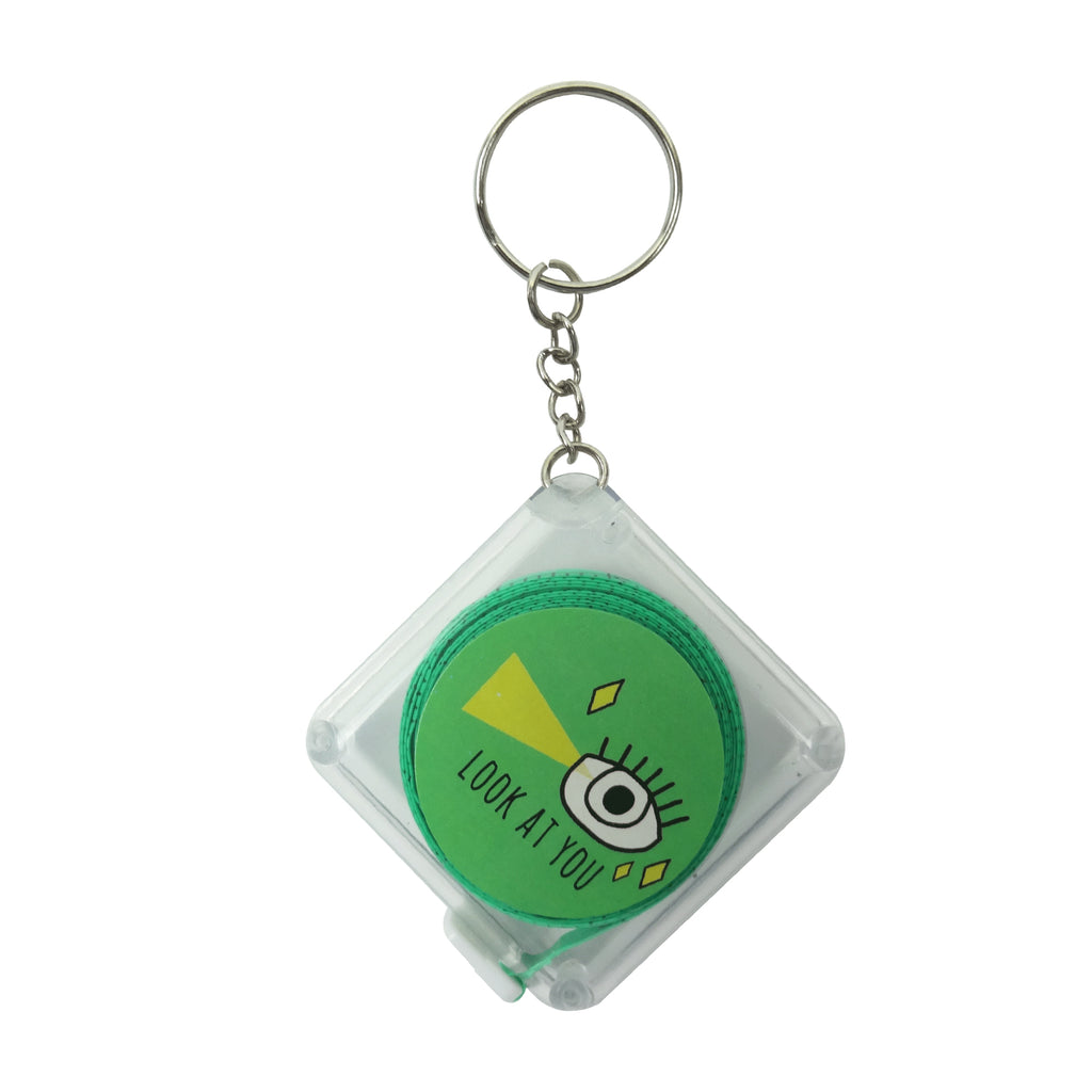 Square Measuring Tape - Green