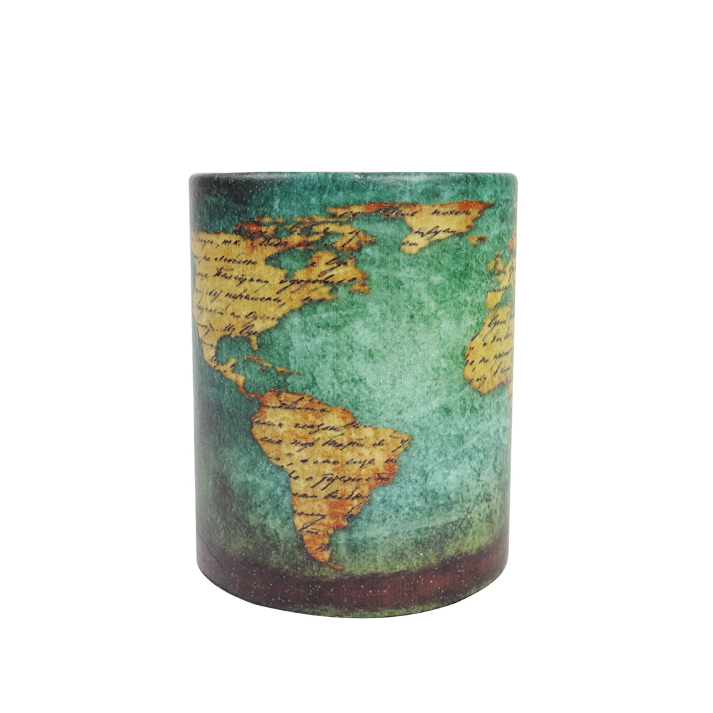 Pen Stand - World Map