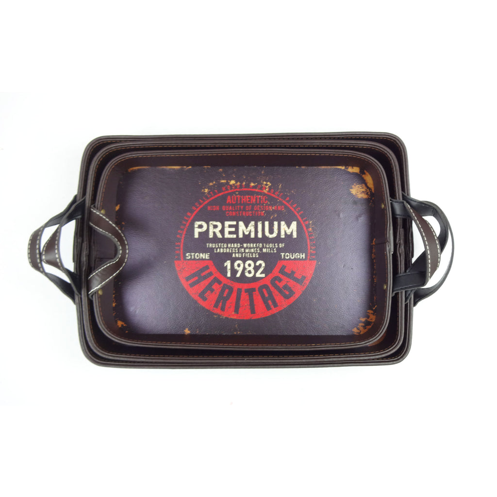 Premium 1982 Tray - Set of 3
