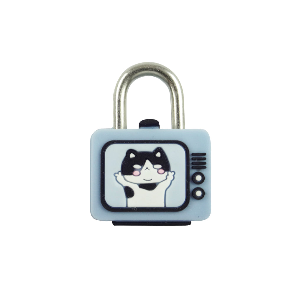 TV Lock -Blue