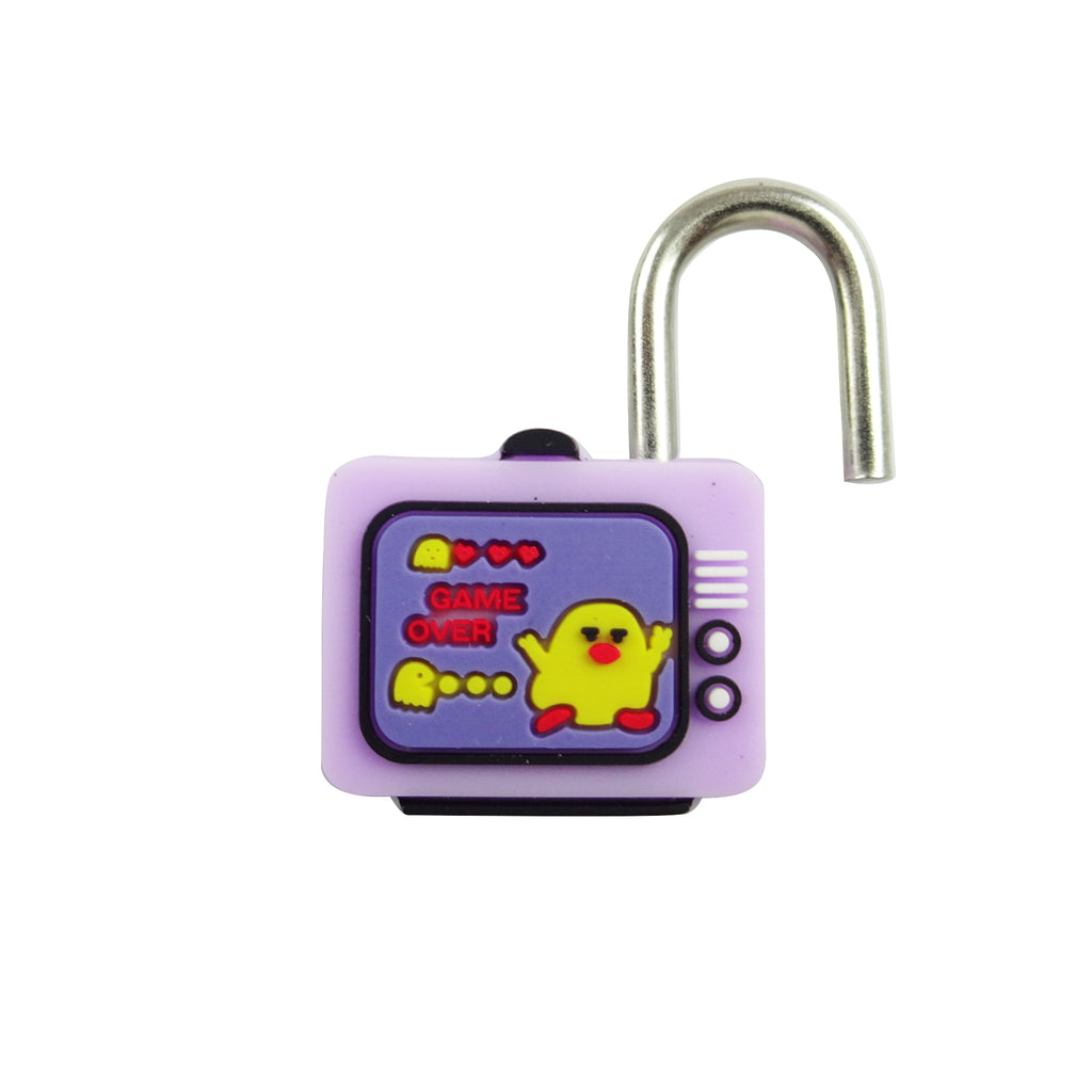 TV Lock - Purple