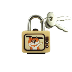 TV Lock - Orange
