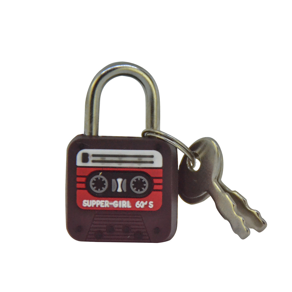 Cassette Lock - Brown