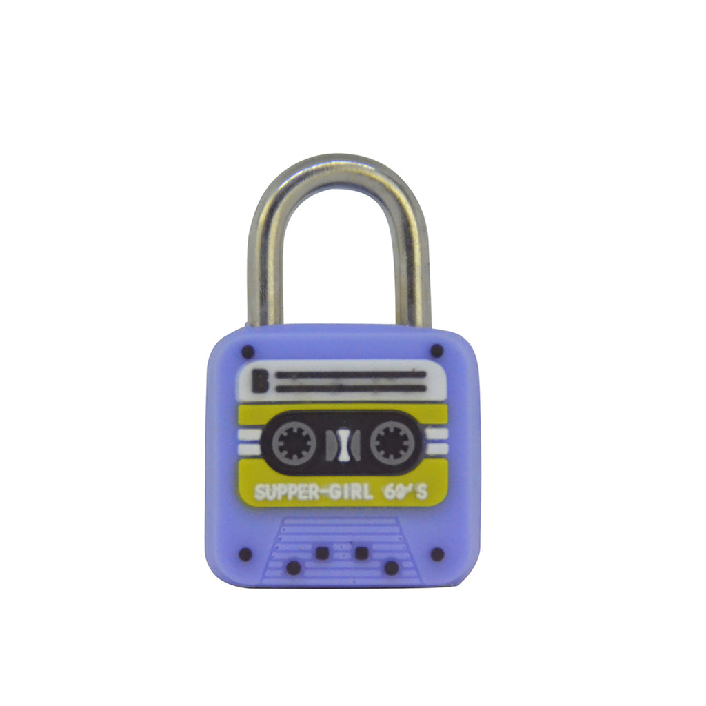 Cassette Lock - Purple