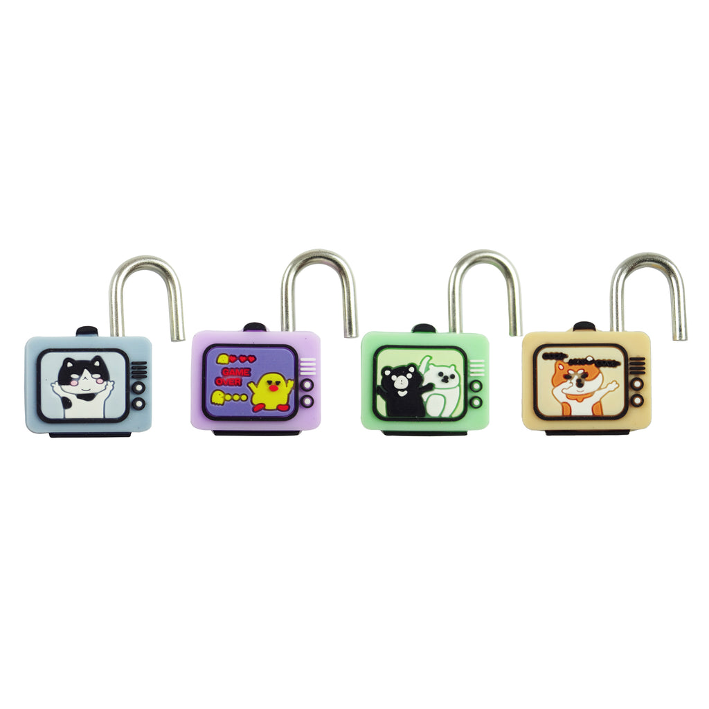 Retro TV Lock - Set of 4