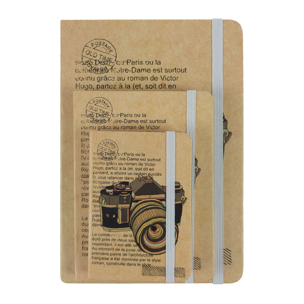 A5 / A6 / A7 Camera Diary - Set of 3