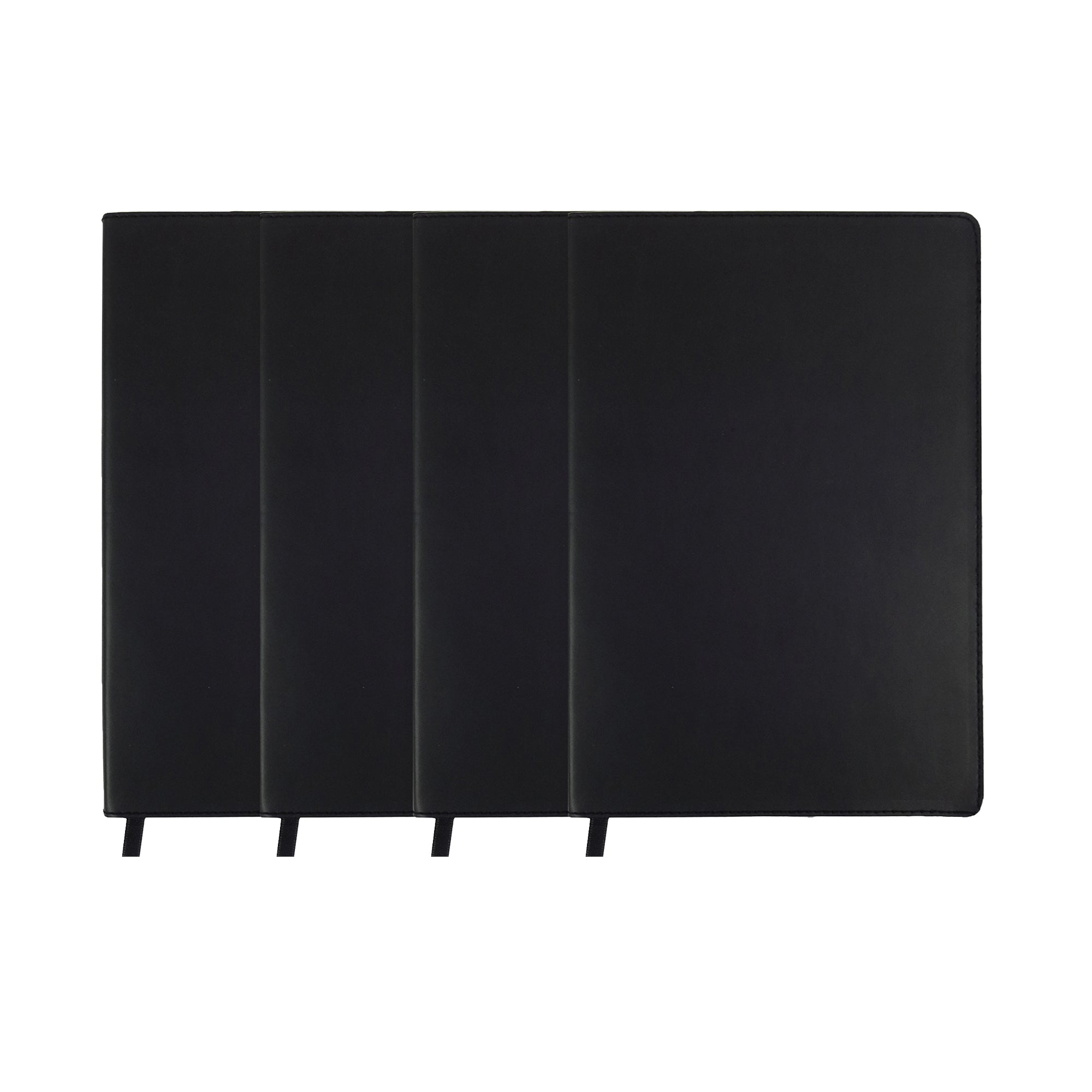 A5 PU Softcover Black - Set of 4