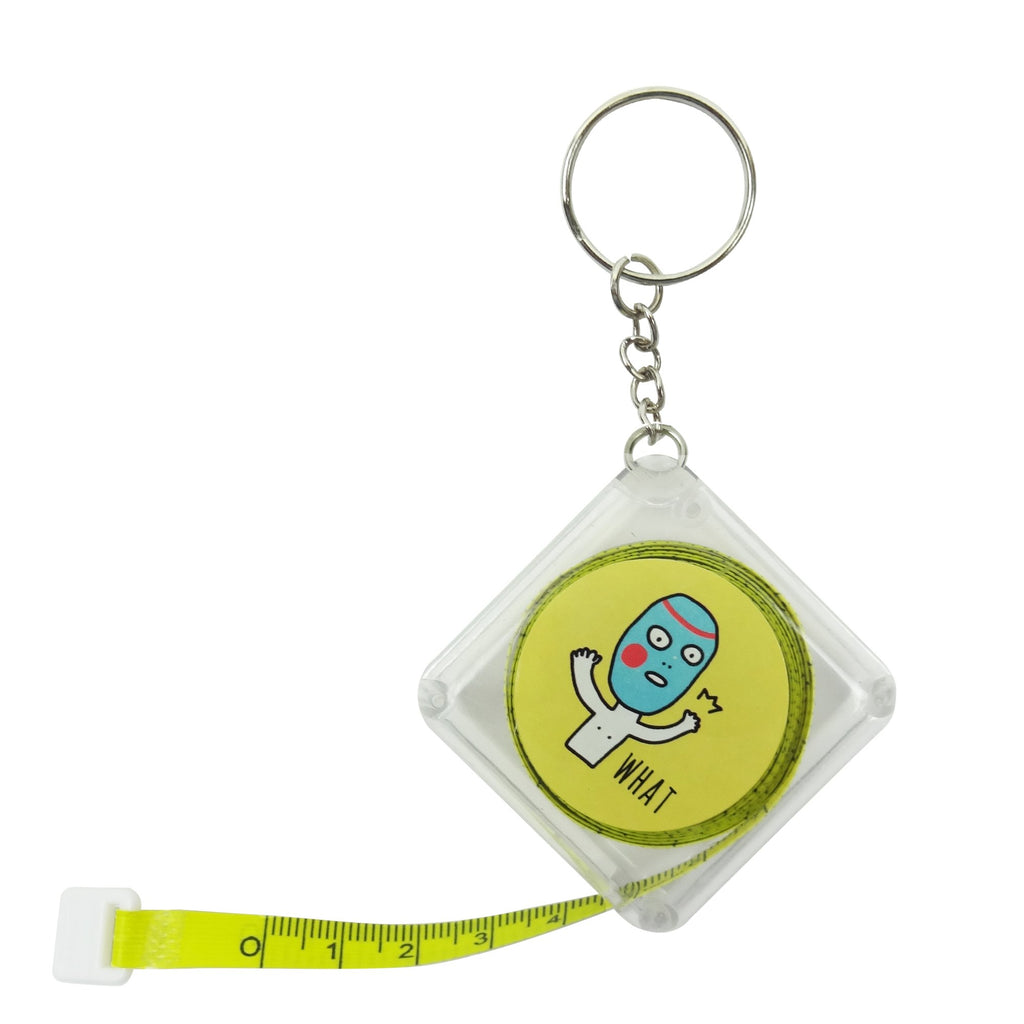 Yellow Square Measuring Tape - Set of 4