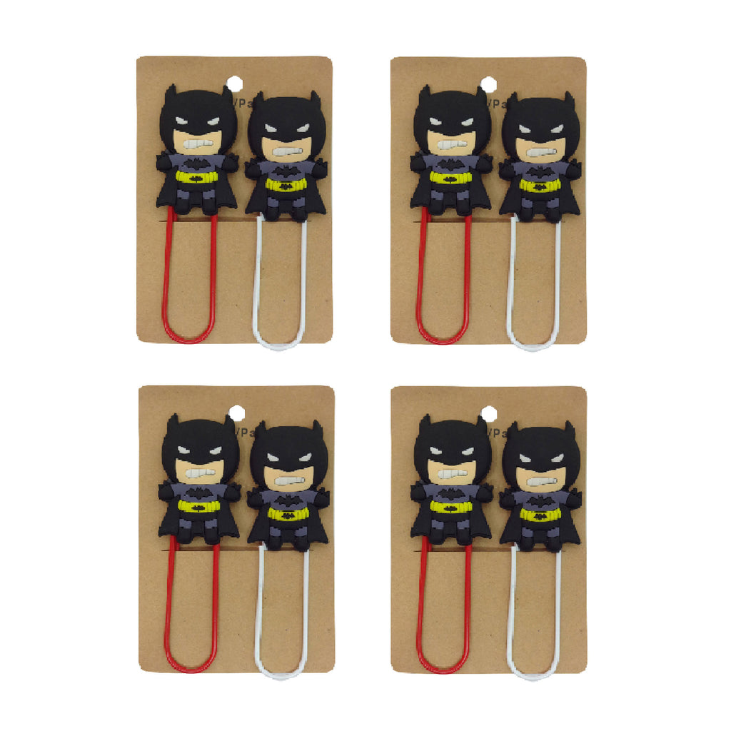 Batman Paper Clip - Set of 4