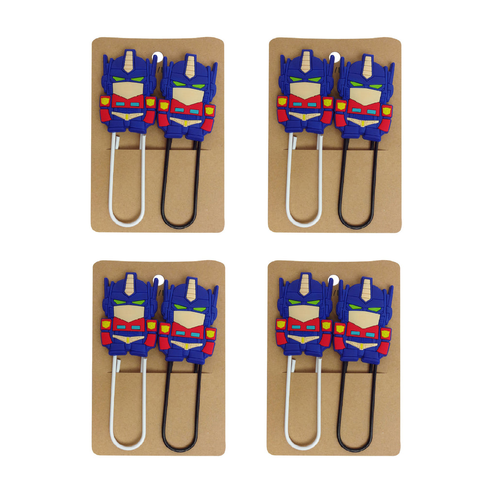 Iron Man Paper Clip - Set of 4