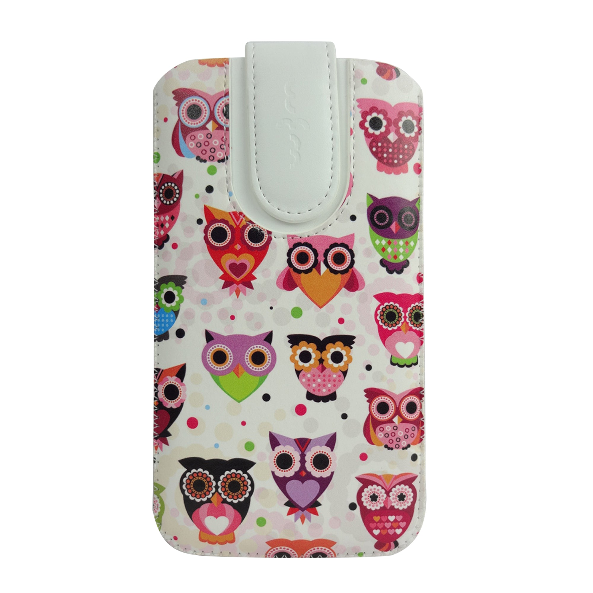 Universal Phone Pouch - Multi Owls