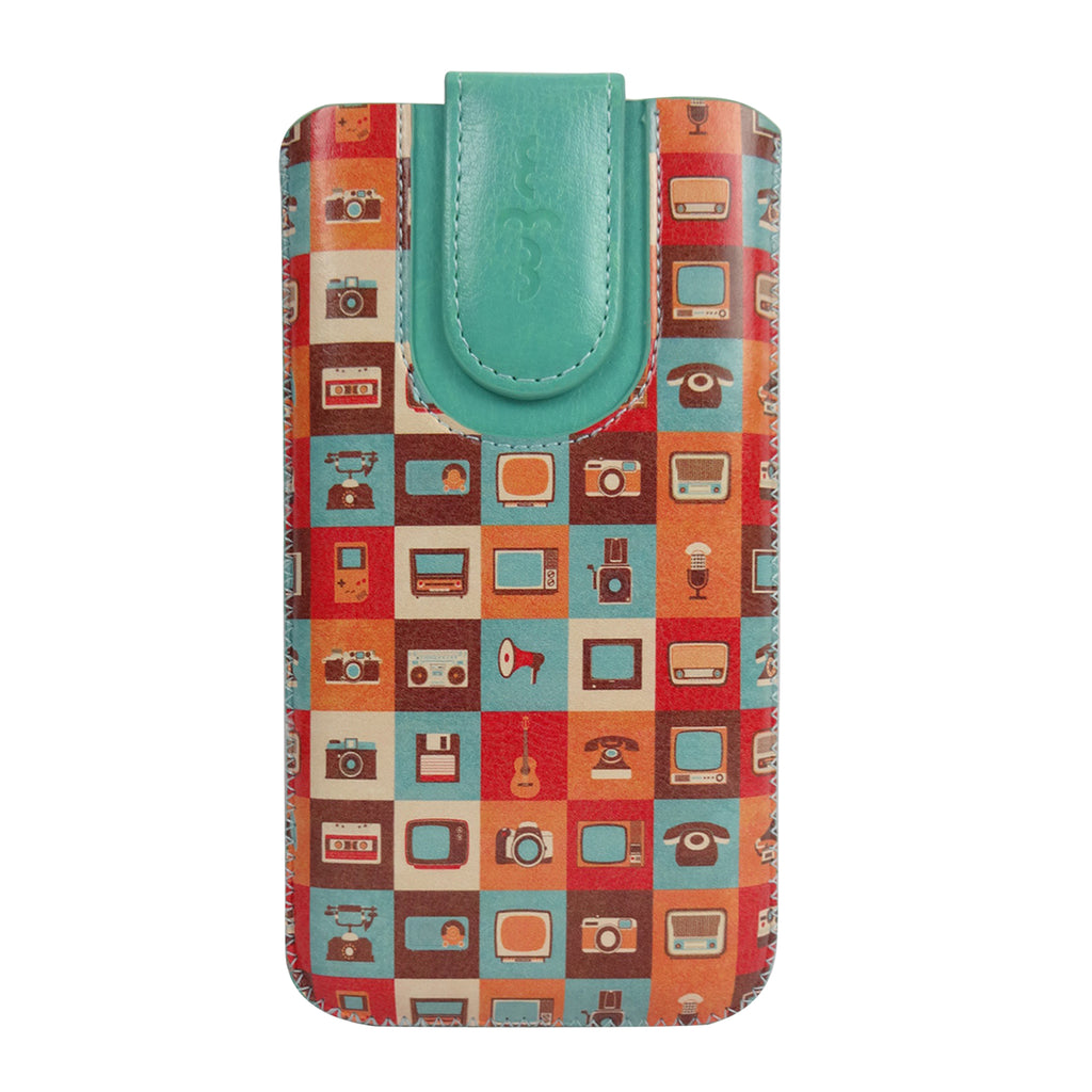 Universal Phone Pouch - Multi Retro