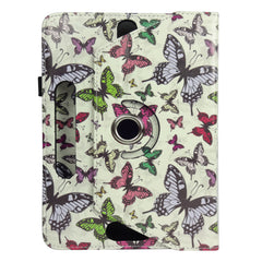 360° Rotating Universal Tablet Case - Multi Butterfly