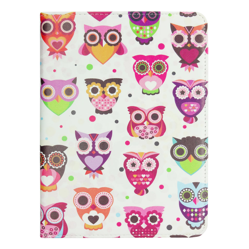 Universal Tablet Case - Multi Owls