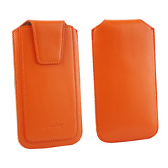 Universal Phone Pouch - Orange Sleek