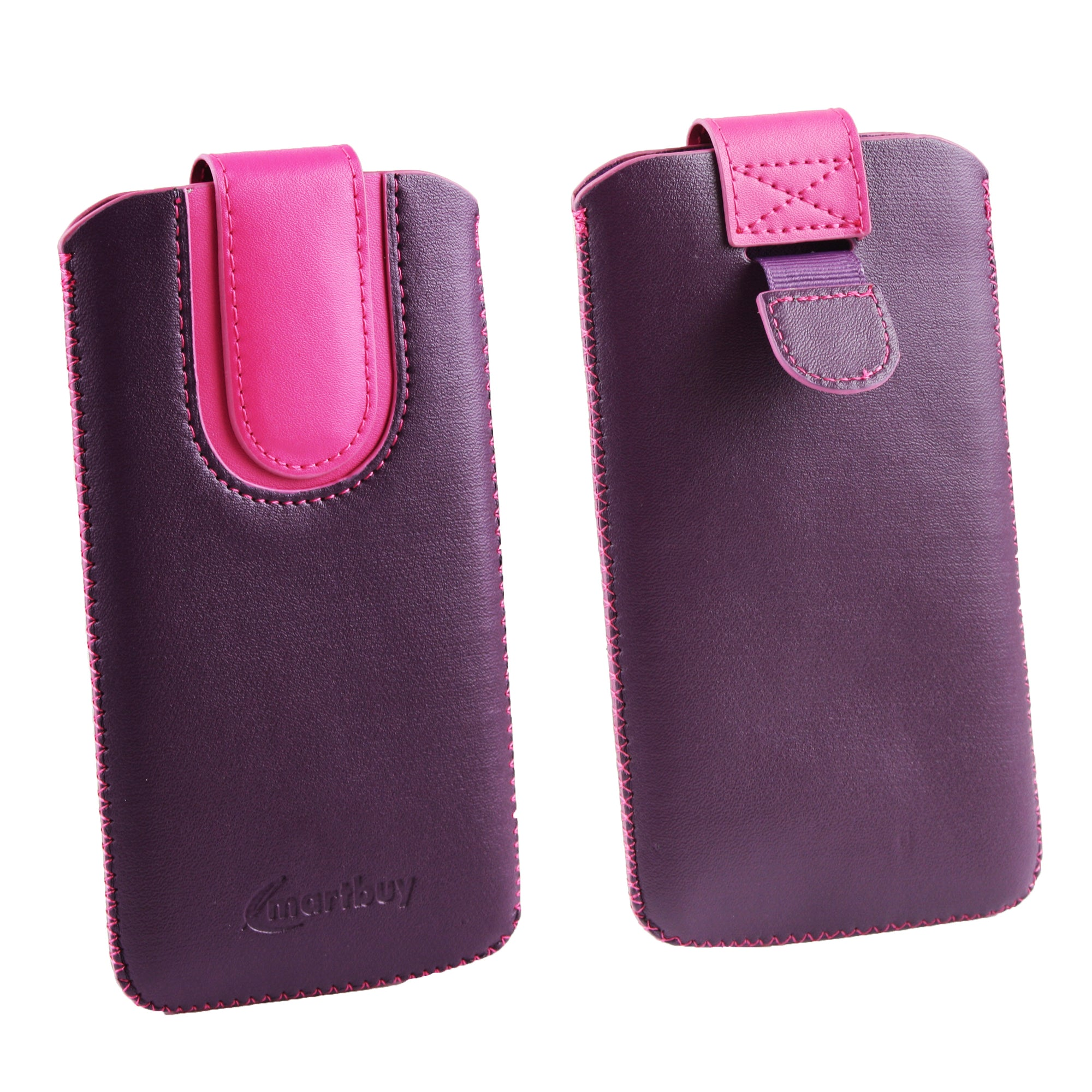 Universal Phone Pouch - Purple Pink Plain