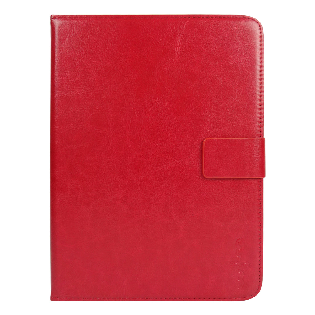 Red Plain Universal Tablet Case