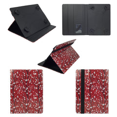 Red Japanese Universal Tablet Case