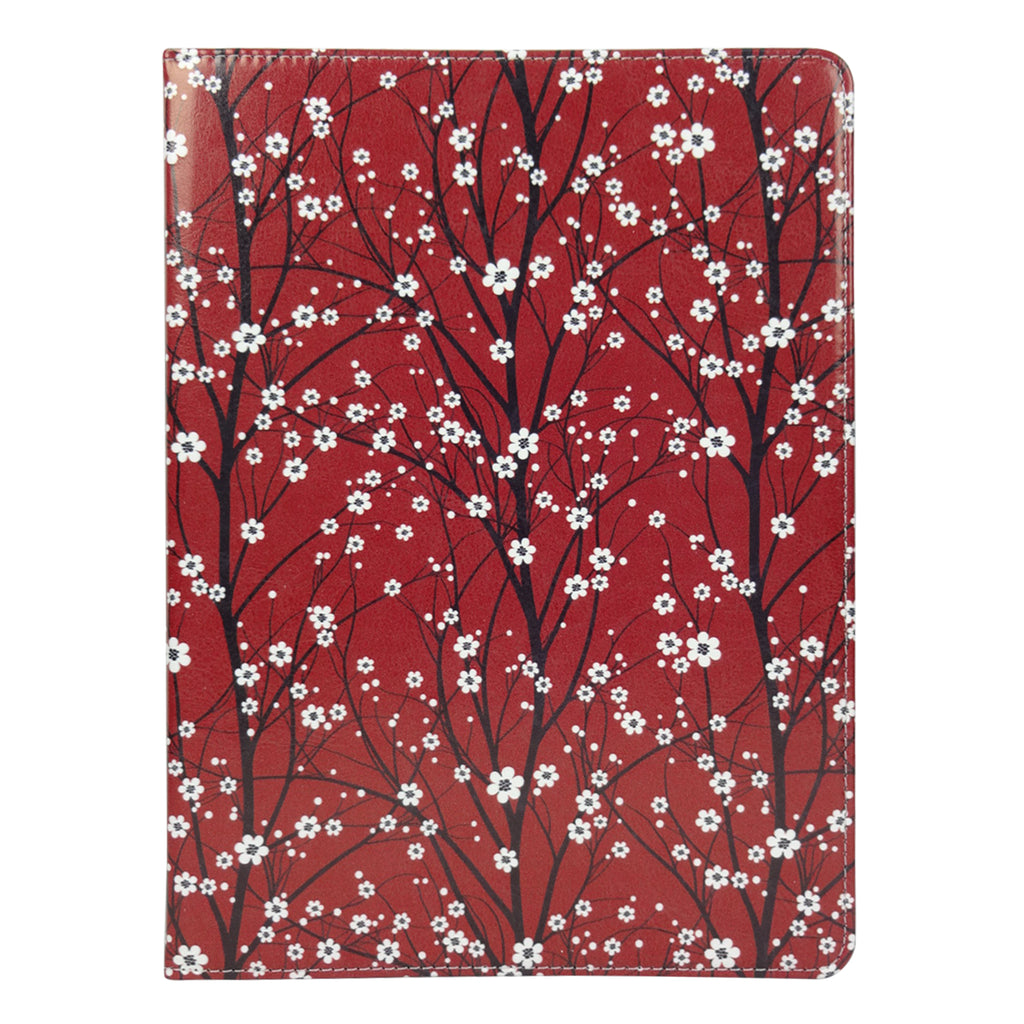 Universal Tablet Case - Red Japanese Floral