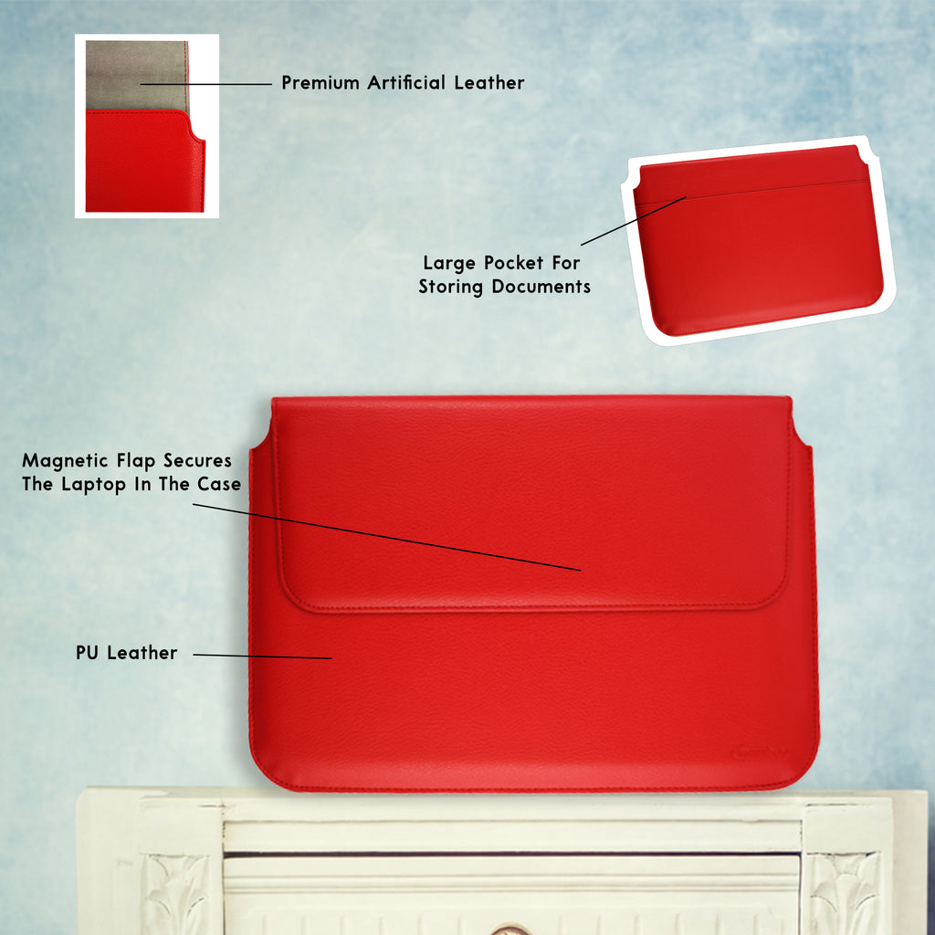 Universal Magnetic Sleeve - Red Plain