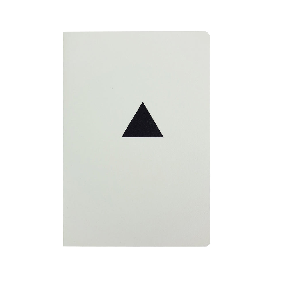 Black & White A5 Diary - Triangle