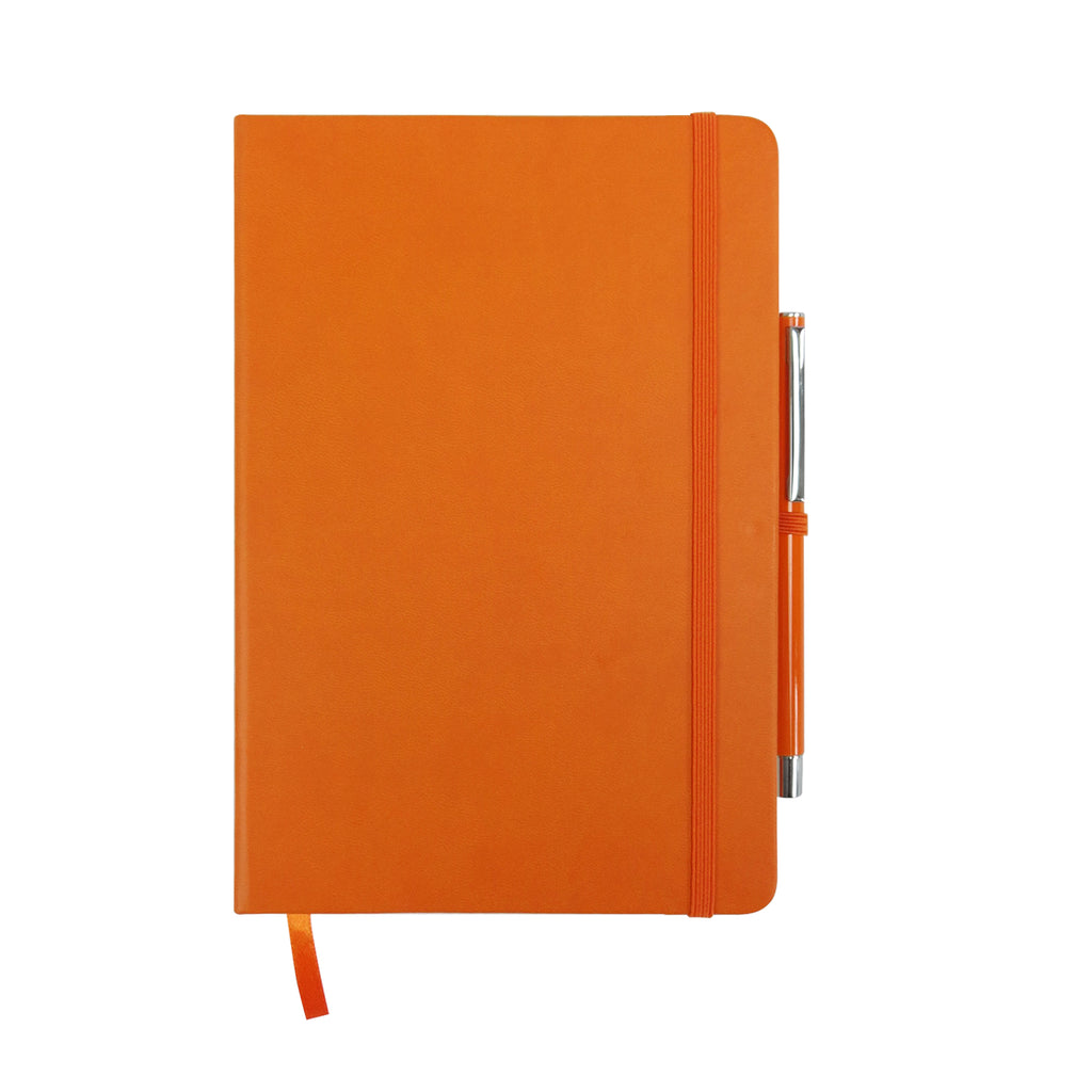 A5 Hardcover PU Diary - Orange