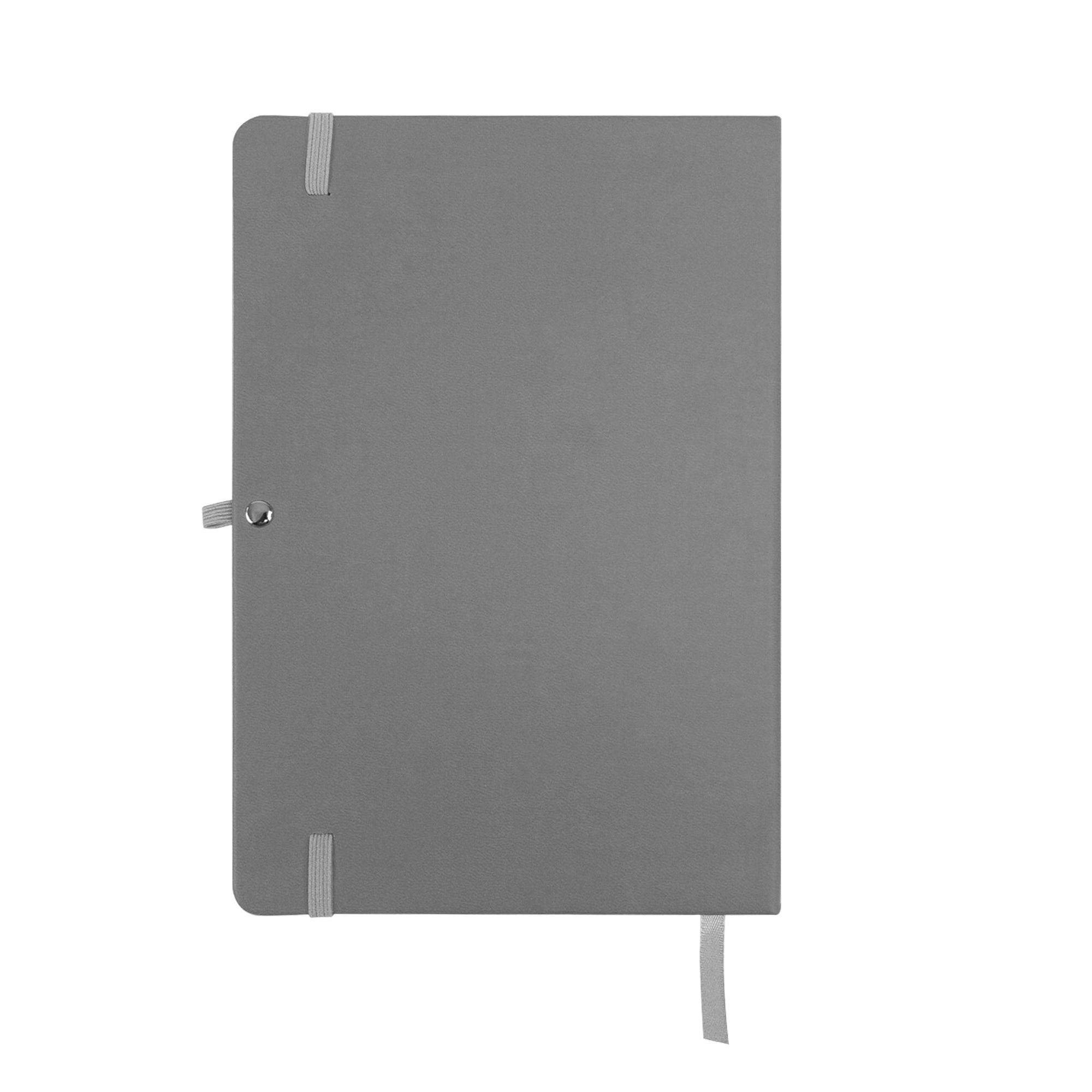 A5 Hardcover PU Diary - Grey