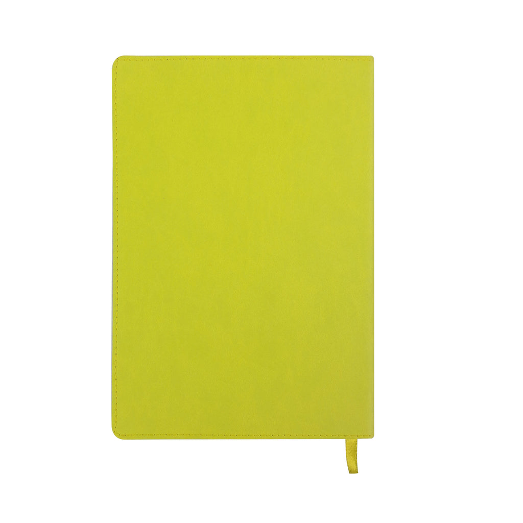 A5 PU Diary - Yellow