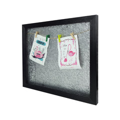 Big Sequin Photo Frame - Silver