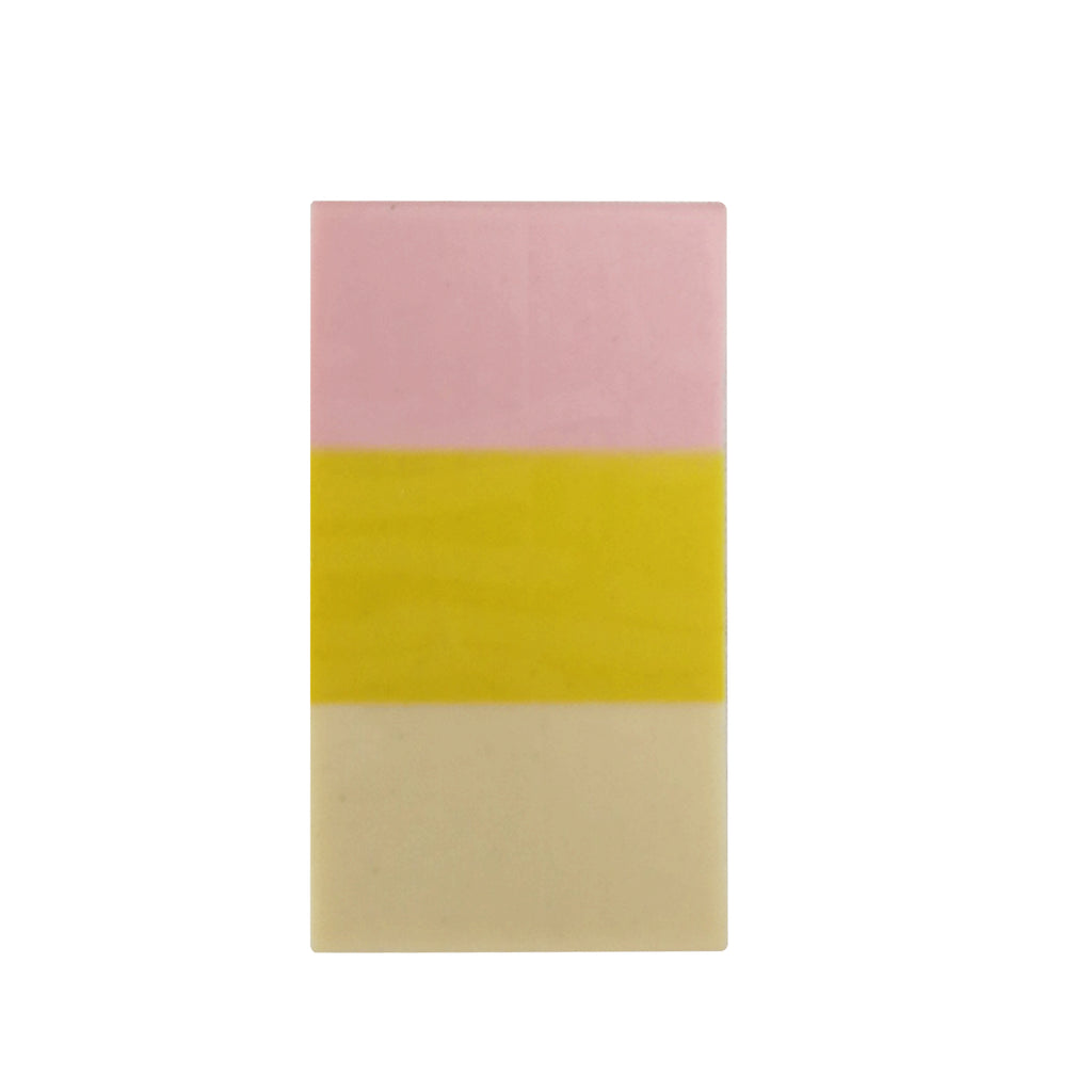 Tri-Color Eraser - Yellow
