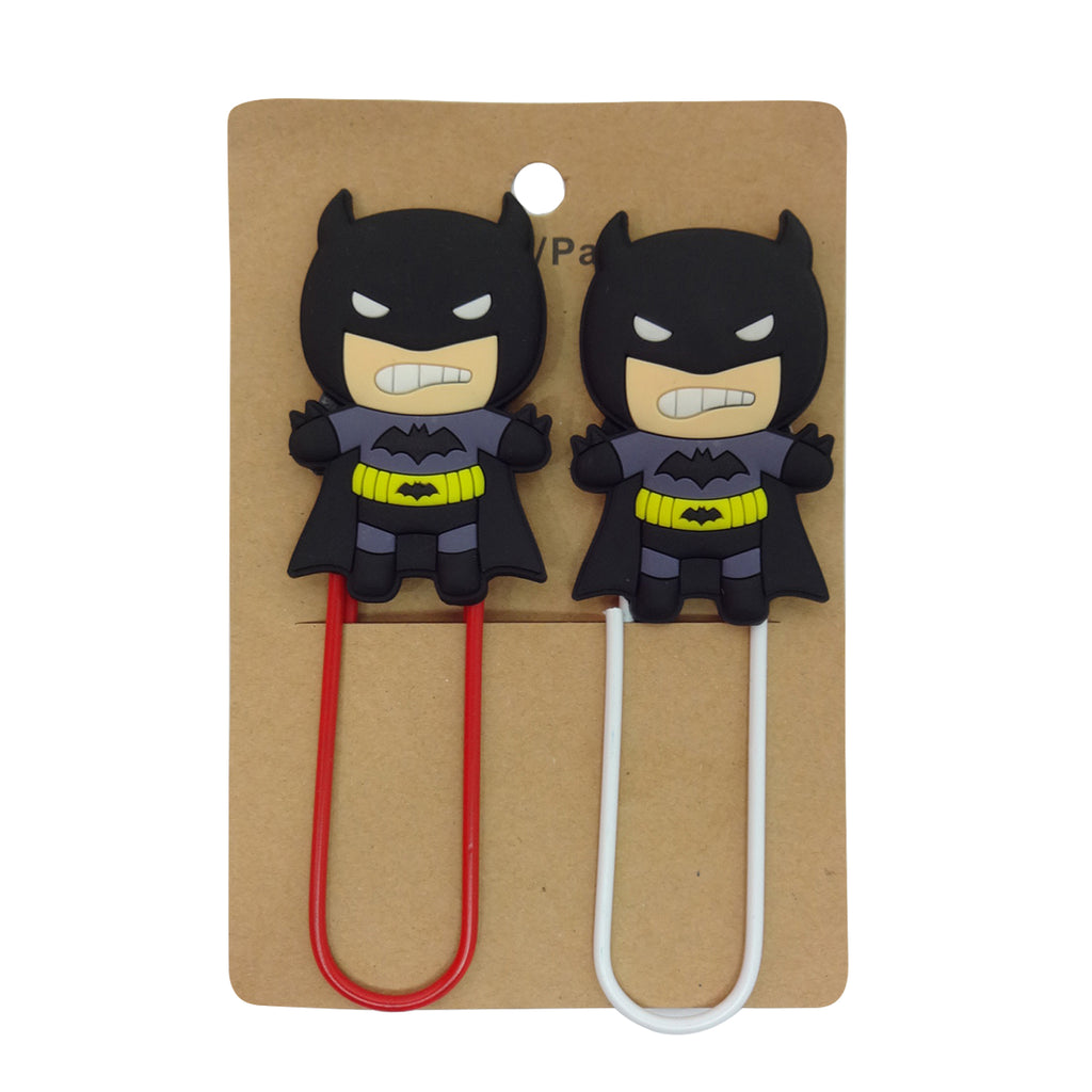 Batman Paper Clip - Set of 2