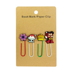 Mickey Mouse Mixed Design Paper Clip - Set of 4